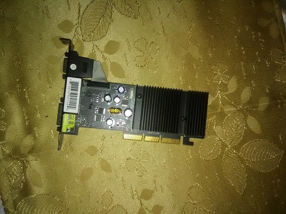 Tarjeta De Video Gf 6200 256 Mb Ddr2 Puerto Agp