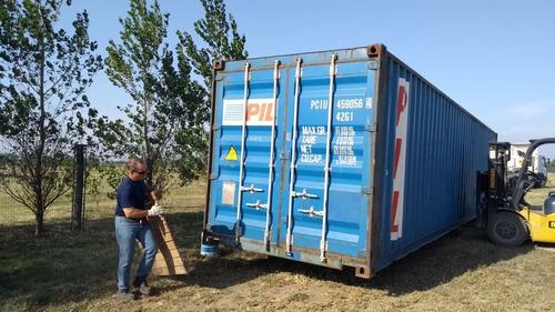 Contenedores Marítimos Containers Usados/ 20' Dv