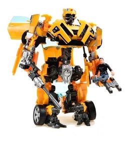 Transformers Bumblebee Robô Carro Boneco Sam Human Alliance