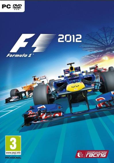 F1 2012 Pc - Steam Key (envio Flash)
