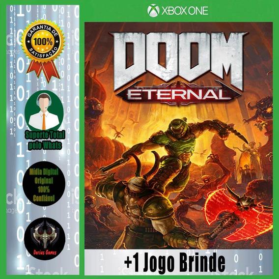 Doom Eternal Xbox One Midia Digital +1 Jogo Brinde