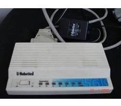 Imagen 1 de 3 de Fax Modem Externo, 56 K , Us Robotics, 3 Com, V.90 And X2