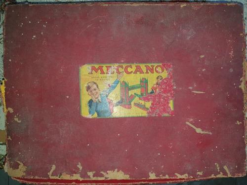 Imagen 1 de 10 de Meccano N6 Inglés Antigüo De 1930