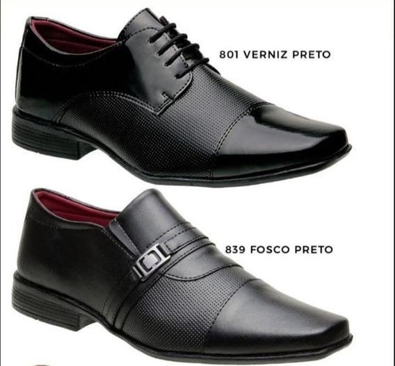Kit 2 Sapatos Sociais Masculino