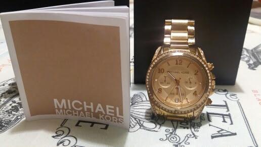 Relógio Michael Kors Mk 5263 Original Com Cristais E Nf Eua