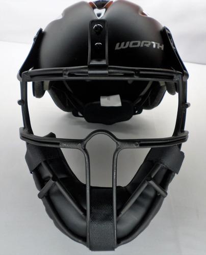 Capacete Mascara Baseball/softball - Worth Legit - Importado