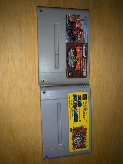 Super Mario World - Original Salvando - Jp - Lote Por R$100