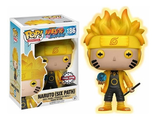 Muñeco Funko Pop, #186 Naruto Six Path, Naruto