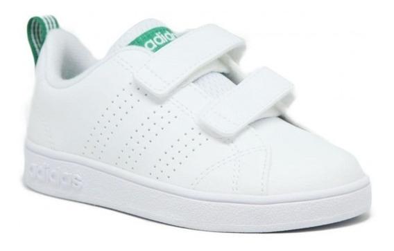 Tenis adidas Advantage   Bebé   Blanco   Original   Aw4889