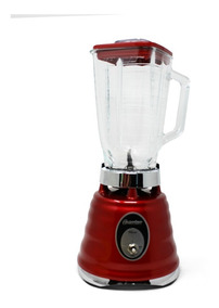 Licuadora 1 Vel+pulso V/vidrio Redonda Roja Oster 4126-13