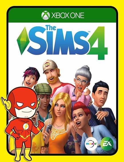 The Sims 4 Xbox One - 25 Dígitos (envio Flash)