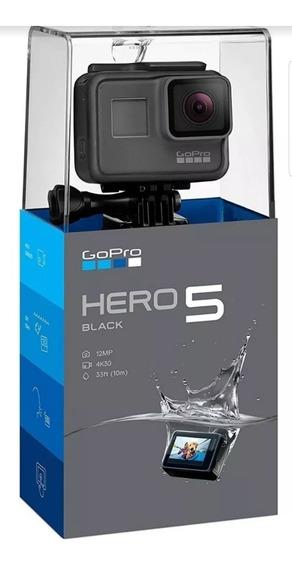 Go Pro Hero 5 Suporte Selfie Água Caixa Lacrado
