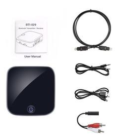 Transmissor Receptor De Áudio Bluetooth 4.1 Óptico Spdif P2