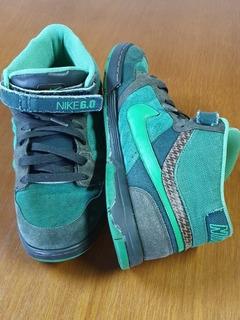 Tênis Nike Sb Tam N° 41 Brasil Air 6.0 Verde .obc Store