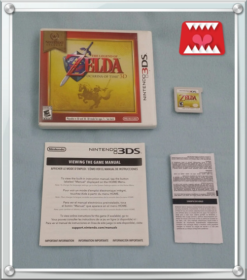 The Legend Of Zelda Ocarina Of Time 3d Nintendo 3ds American
