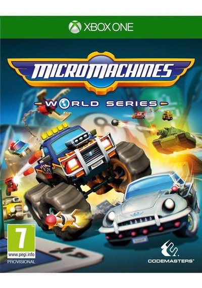 Jogo Mídia Física Micro Machines World Series Para Xbox One