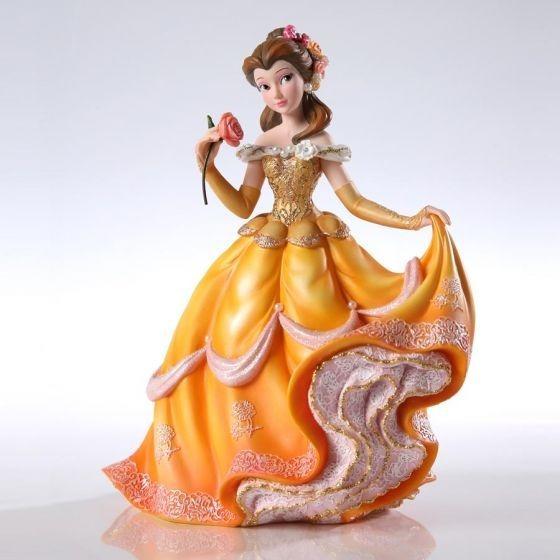 Estátua Decoração Disney Store Belle Bela A Bela E A Fera