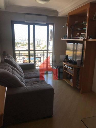 Apartamento À Venda, 70 M² Por R$ 440.000,00 - Ipiranga - São Paulo/sp - Ap0391
