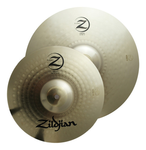 Set De Platillos Zildjian Plz1316 Hi Hat 13 + Crash 16