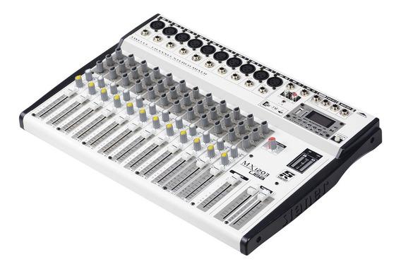 Mesa Som Staner Mixer 1203 Usb Efeito Balanceada Profissiona