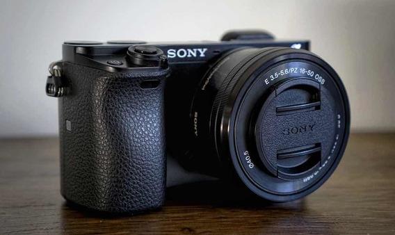 Câmera Sony A6000 Lente 16-50mm Oss