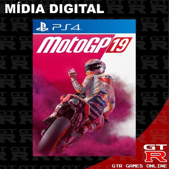 Motogp 19 Ps4 Primaria Psn Midia Digital Envio Ja 2019