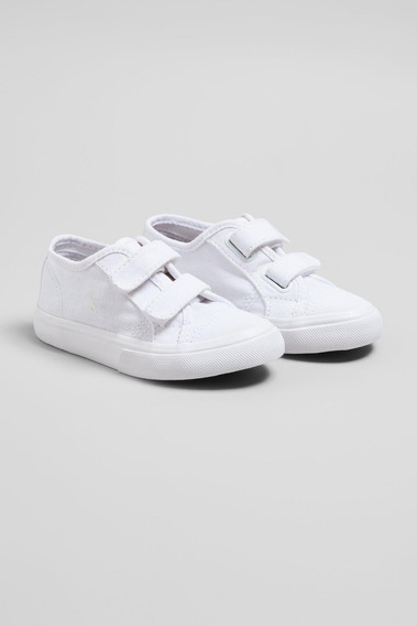 Tenis Rmi #188 Bb All White Reserva Mini