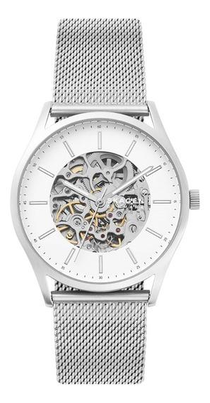 Reloj Caballero Skagen Holst Skw6581 Color Plateado De Acero