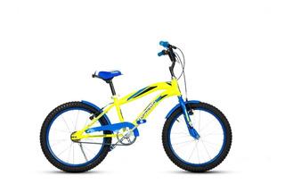 Bicicleta Top Mega Cross Rodado 20 Varon Niños Gm Store Hs