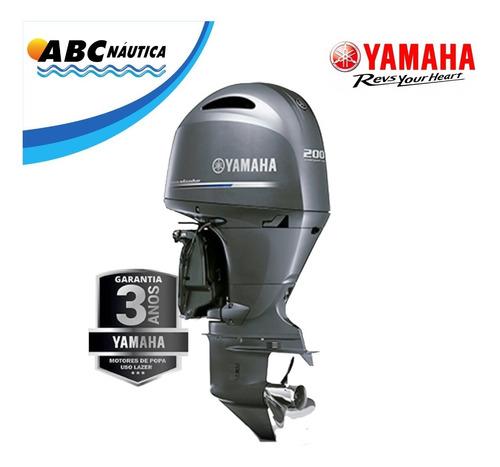 Motor De Popa Yamaha 200hp 4t