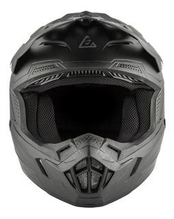 Casco Answer Racing Ar1 Voyd Mate Black Niño