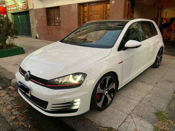 Volkswagen Golf 2016 2.0 Gti Tsi App Connect + Cuero