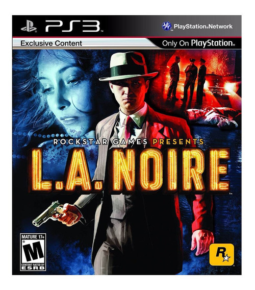 Jogo L. A. Noire Ps3 Mídia Física