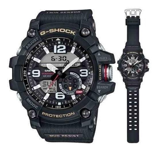 Relógio Casio G Shock Mudmaster Gg-1000-1adr Novo Manual