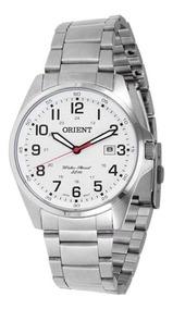 Relógio Orient Masculino Mbss1171 S2sx Branco