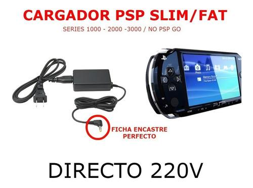 Imagen 1 de 5 de Cargador Para Playstation Portable 220v Psp 1000 2000 Y 3000