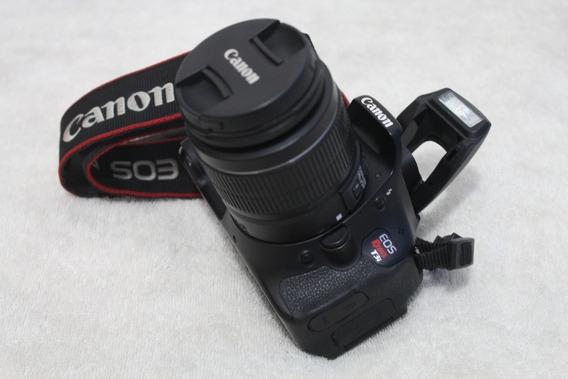 Canon T3i Com Lente 18-55mm Frete Gratis