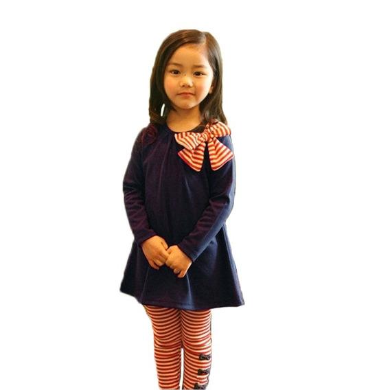 7 Moda Para Niñas Nuevo Moda Kids Girls Blueset