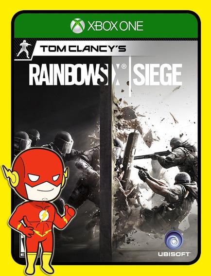 Tom Clancys Rainbow Siege Xbox One - 25 Dígitos (envio Flash)