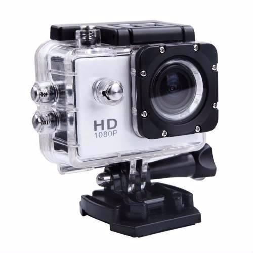 Camera Filmadora Prova D Água Sportcam Action Hd Carro Sport