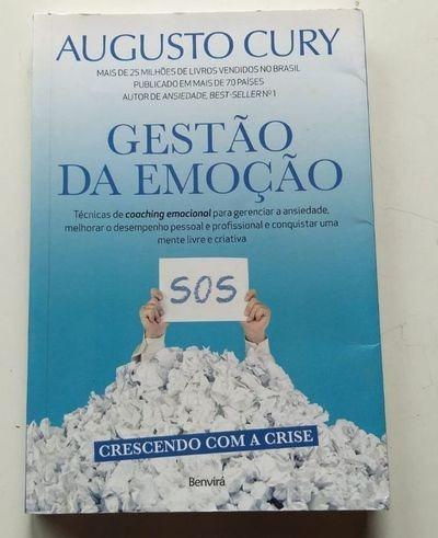 Livro Gestão Da Emoção Augusto Cury