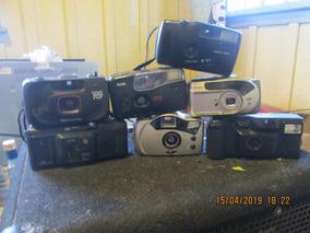 Cameras De Fotos,lote.c/7 No Estado 300 Reais Frete Gratis