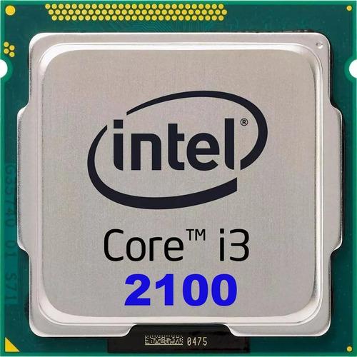 Processador Intel Core I3-2100 3.1ghz Lga1155 + Pasta Termic