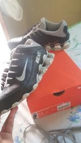Nike Reax 8 / Preto Com Cinza