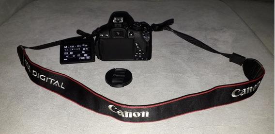 Câmera Canon Rebel T5i + Lente 18-55mm + 2 Baterias