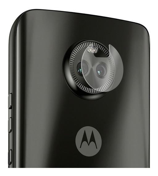 Película De Vidro Para Lente Câmera Moto X4 - Gorila Shield