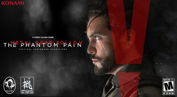 Metal Gear Solid V The Phantom Pain + 2 Jogos Pc - Dvd