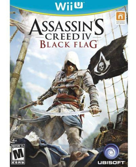 Wii U - Assassins Creed 4 Black Flag - Novo Lacrado C/ Nf