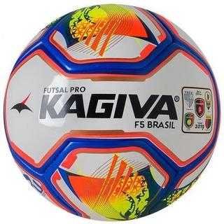 Bola Futsal Kagiva F5 Brasil + Chuteira Futsal Brasil 70