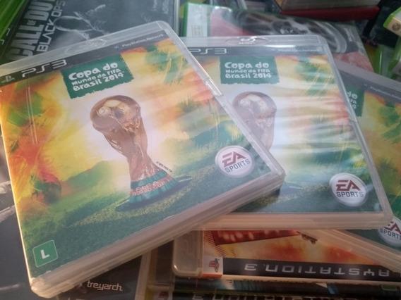 Copa Do Mundo Fifa Brasil 2014 Midia Física Original Ps3